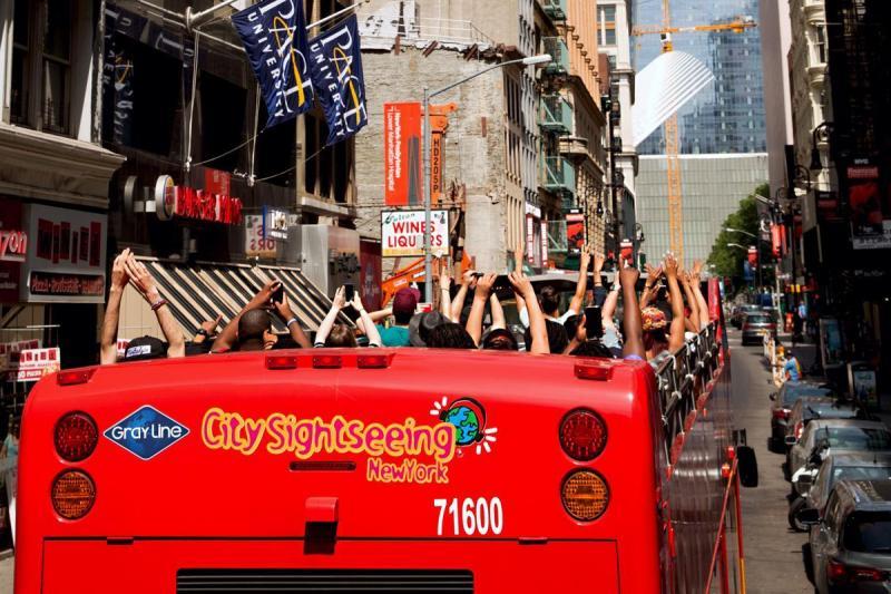 纽约出发景点门票、观光巴士1日游:NY-T-7210