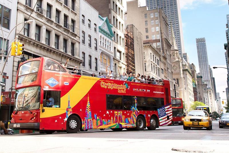 纽约出发景点门票、观光巴士1日游:NY-T-7388