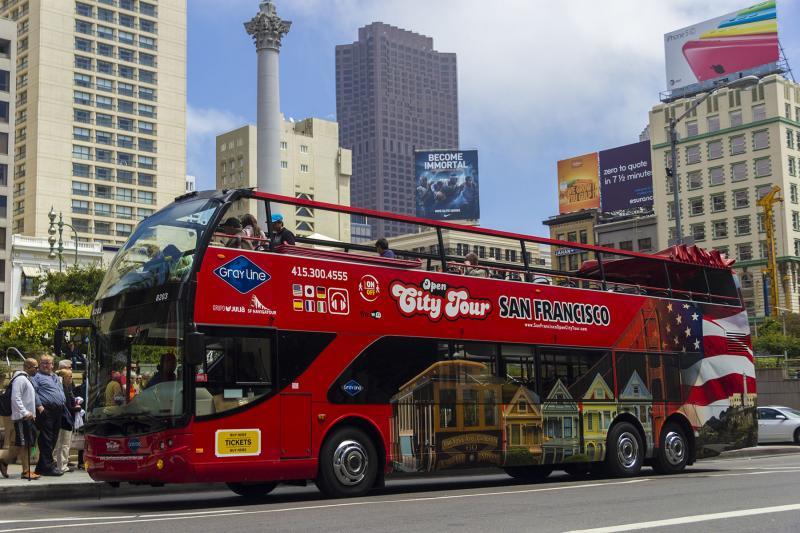 旧金山出发观光巴士1日游:SF-T-6914