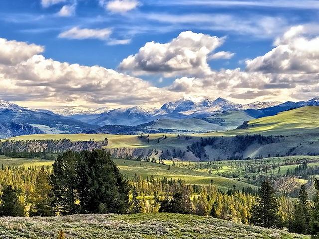 拉斯维加斯出发黄石公园、羚羊谷7日游:LV7-7384