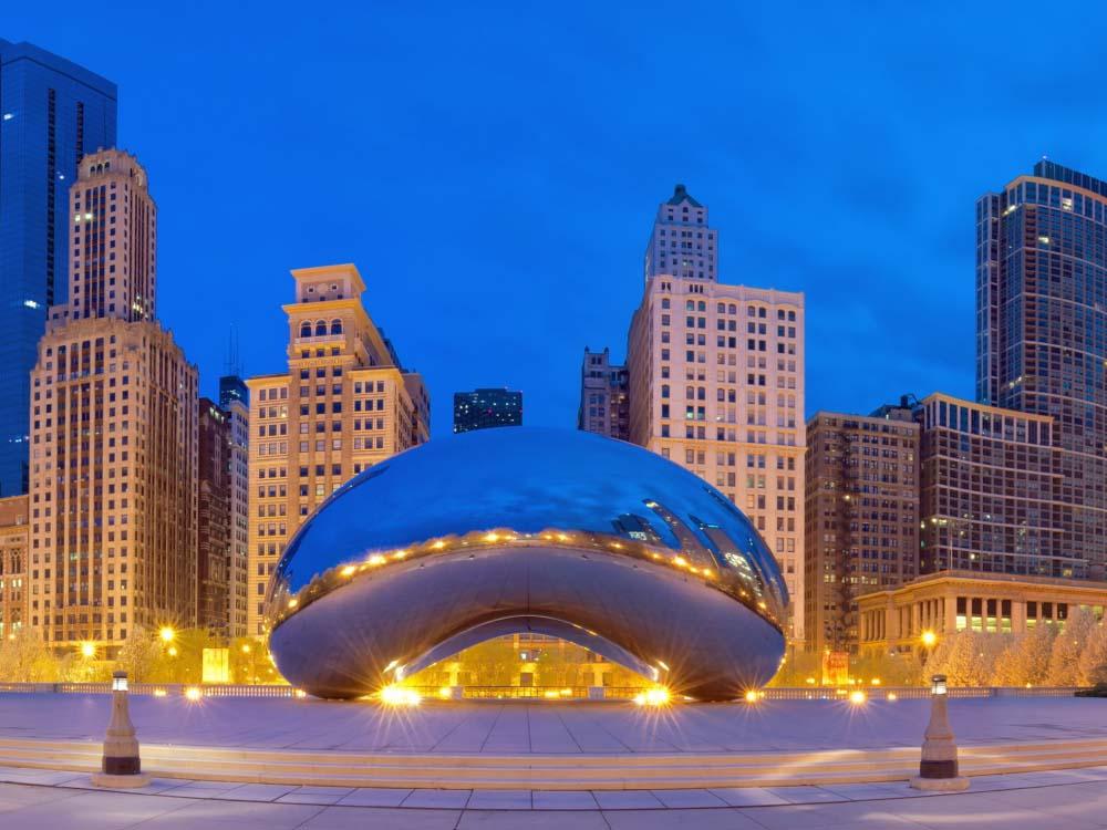 芝加哥出发舒适小团、包车自由行1日游:CH1-8651