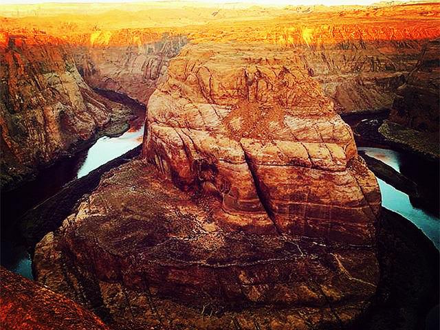 拉斯维加斯出发大峡谷、黄石公园、羚羊谷8日游:LV8-9261