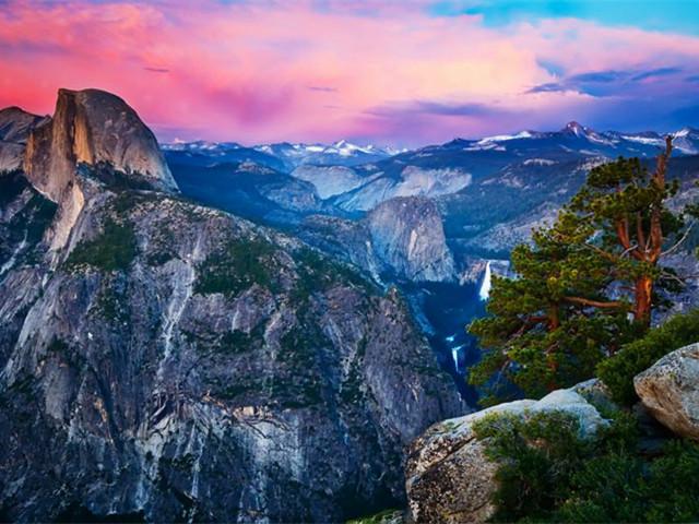 拉斯维加斯出发大峡谷、优胜美地、羚羊谷8日游:LV8-8672