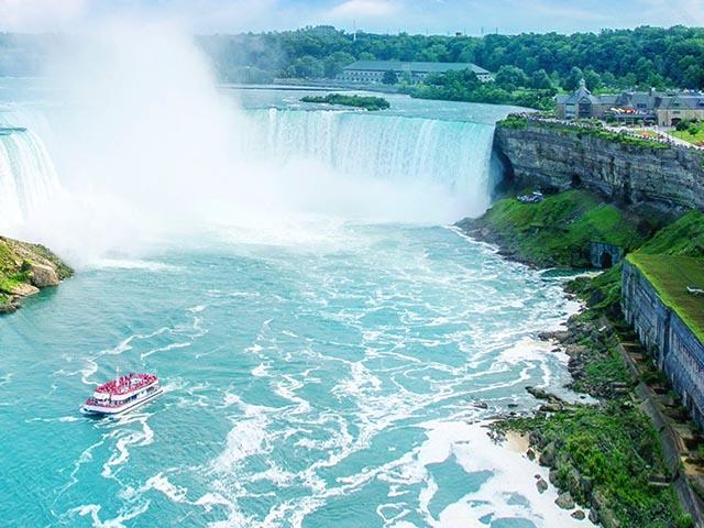 纽约出发尼亚加拉大瀑布、舒适小团7日游:NY7-8397