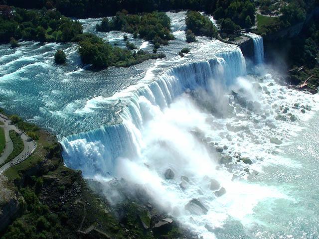 纽约出发尼亚加拉大瀑布、风之洞6日游:NY6-9437