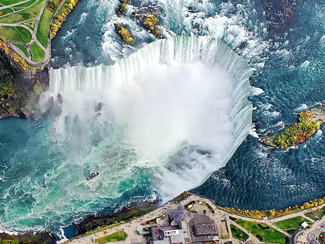 纽约出发尼亚加拉大瀑布、舒适小团6日游:NY6-7809