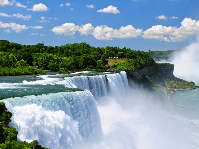 纽约出发尼亚加拉大瀑布、风之洞8日游:NY8-9865
