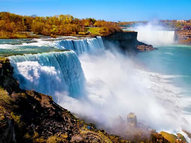 纽约出发尼亚加拉大瀑布5日游:NY5-10314