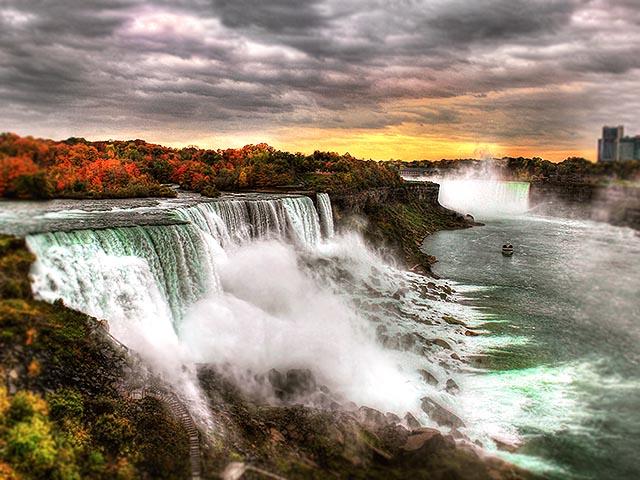 纽约出发尼亚加拉大瀑布5日游:NY5-8090
