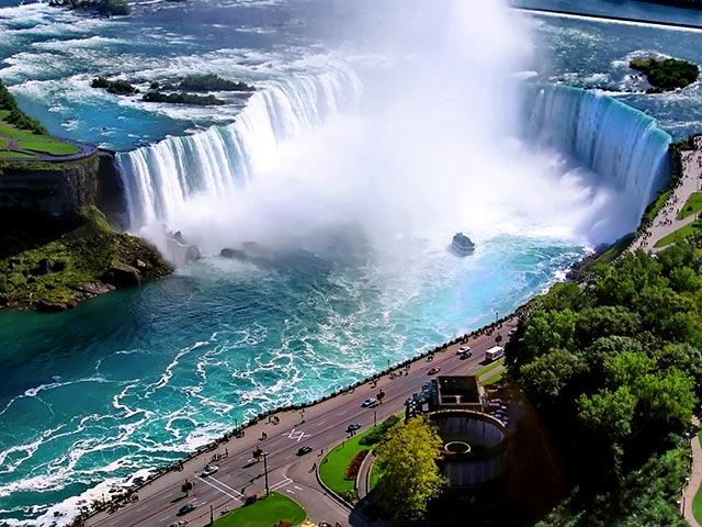 纽约出发尼亚加拉大瀑布、风之洞10日游:NY10-9861