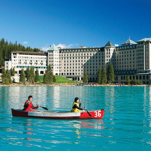 西雅图出发班夫公园、费尔蒙酒店6日游:SE6-4757