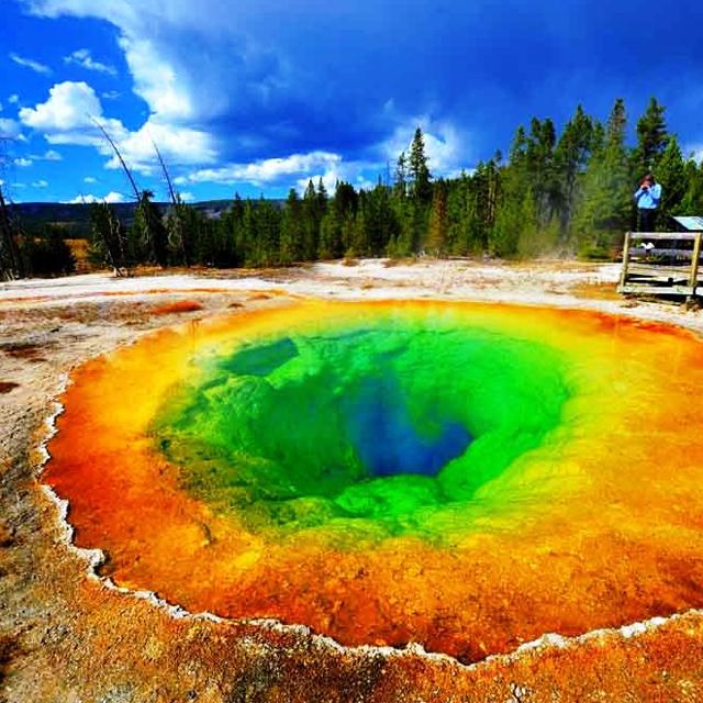 西雅图出发黄石公园6日游:SE6-5257