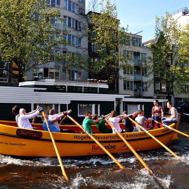 阿姆斯特丹出发游船观光1日游:AM-T-3115