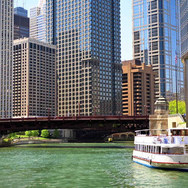 芝加哥出发游船观光1日游:CH-T-1620