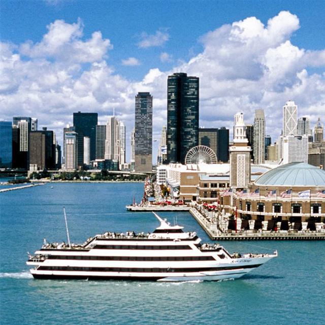 芝加哥出发游船观光1日游:CH-T-581