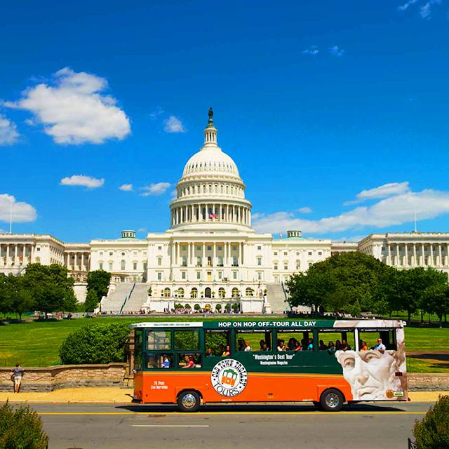 华盛顿出发观光巴士1日游:DC-T-904