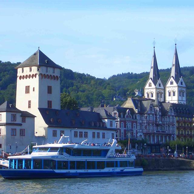 法兰克福出发游船观光1日游:FR-T-2277
