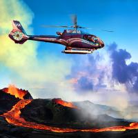 夏威夷大岛出发空中观光1日游:HO1-10531
