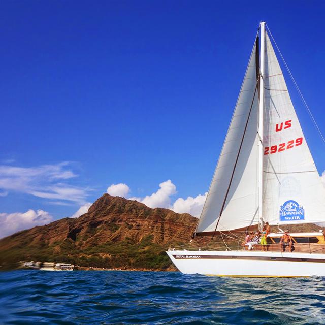 檀香山出发游船观光1日游:HO-T-1078