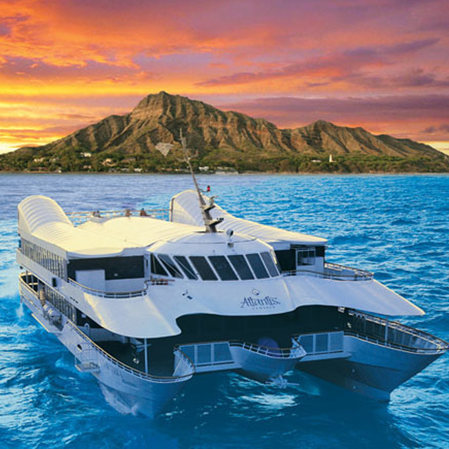 檀香山出发游船观光1日游:HO-T-5200