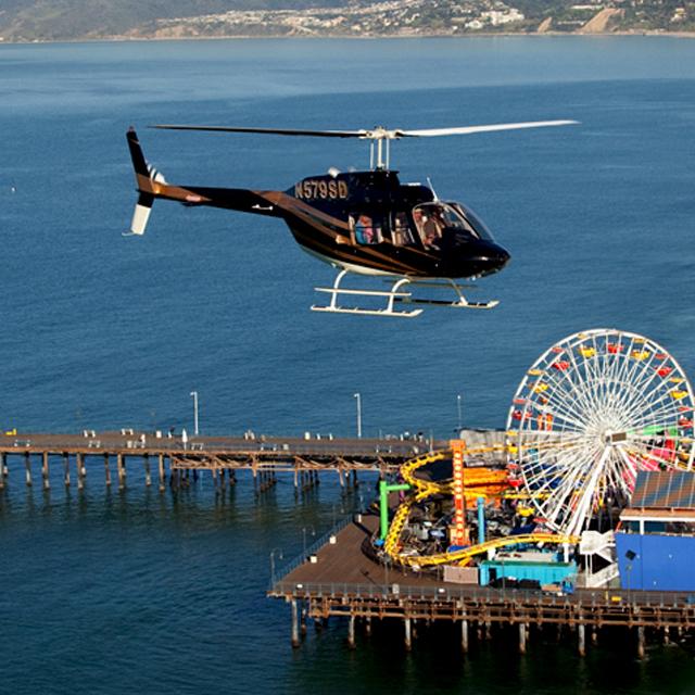 洛杉矶出发空中观光1日游:LA-T-1844