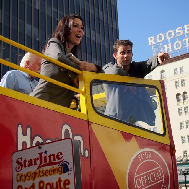 洛杉矶出发观光巴士1日游:LA-T-449