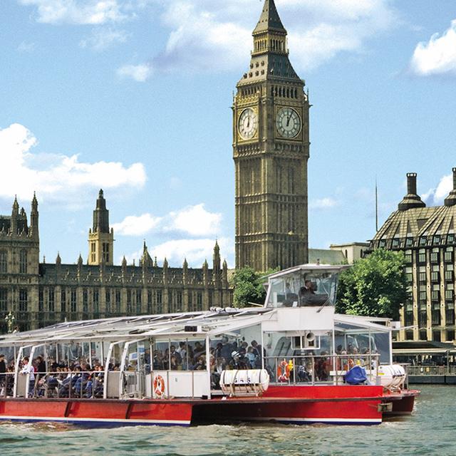 伦敦出发游船观光1日游:LO-T-1545