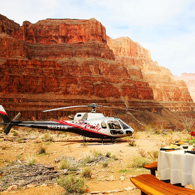拉斯维加斯出发大峡谷、空中观光1日游:LV-T-1166