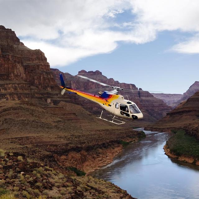 拉斯维加斯出发大峡谷、空中观光1日游:LV-T-2514