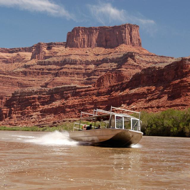 拉斯维加斯出发大峡谷、空中观光、游船观光1日游:LV-T-2519