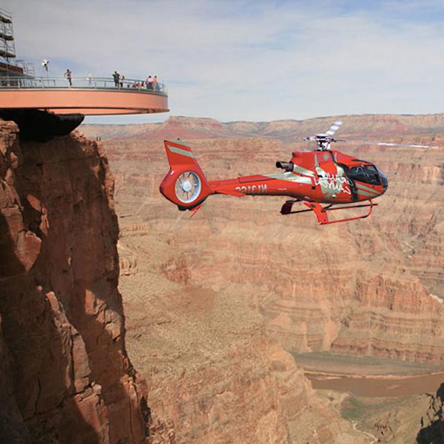 拉斯维加斯出发大峡谷、空中观光1日游:LV-T-2524
