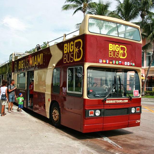 迈阿密出发观光巴士、游船观光1日游:MI-T-1235