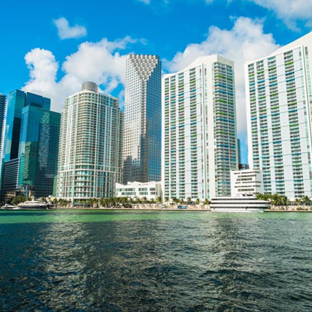 迈阿密出发游船观光1日游:MI-T-1267