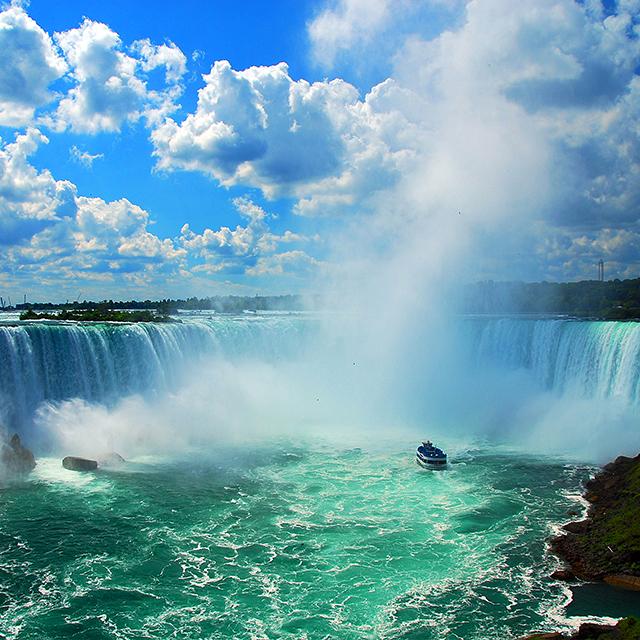纽约出发尼亚加拉大瀑布、空中观光1日游:NY-T-1085