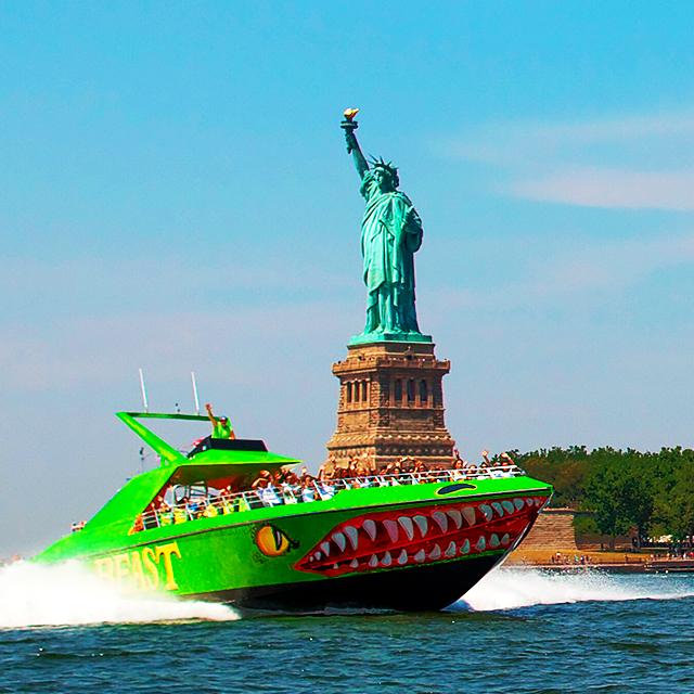纽约出发游船观光1日游:NY-T-873