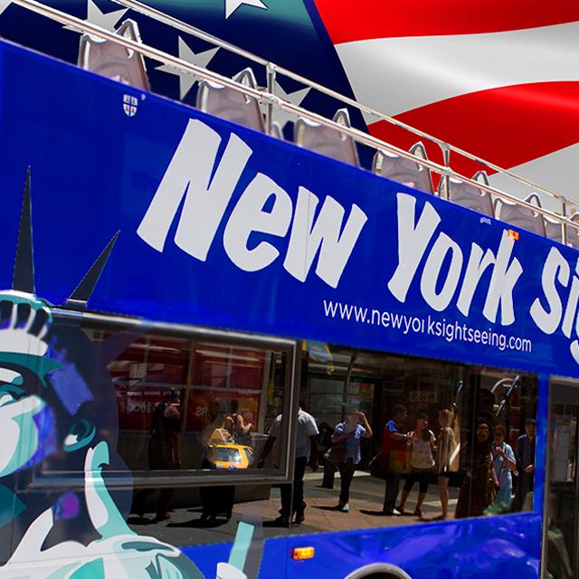 纽约出发观光巴士、游船观光、邮轮岸上游1日游:NY-T-969