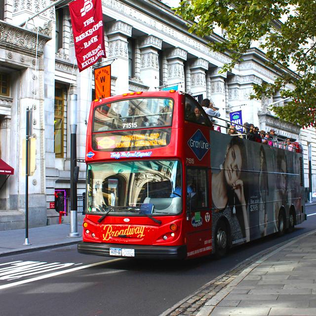 纽约出发购物、观光巴士、游船观光1日游:NY-T-978