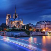 巴黎出发观光巴士、游船观光1日游:PA-T-1647