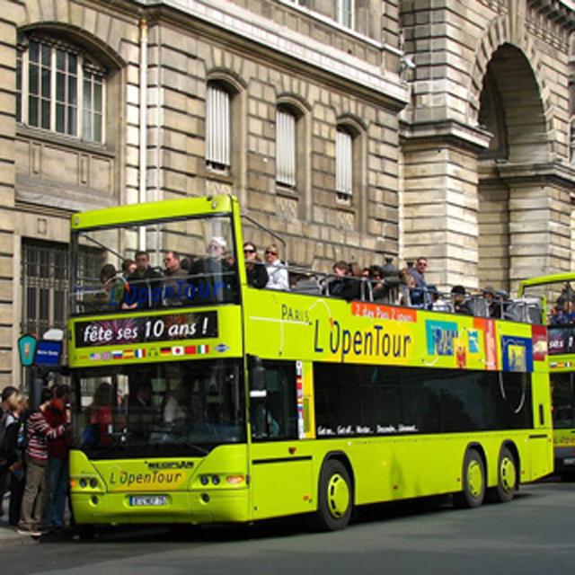 巴黎出发观光巴士1日游:PA-T-2275
