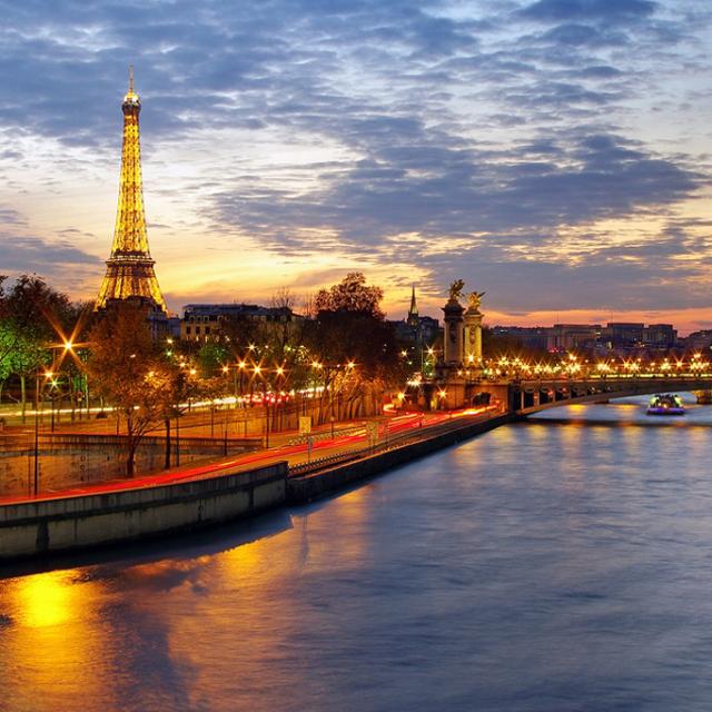 巴黎出发游船观光1日游:PA-T-2332