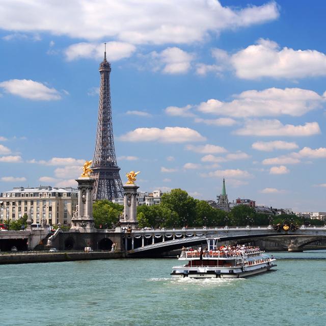 巴黎出发游船观光1日游:PA-T-2340