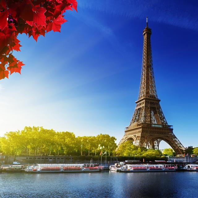 巴黎出发观光巴士、游船观光1日游:PA-T-2347