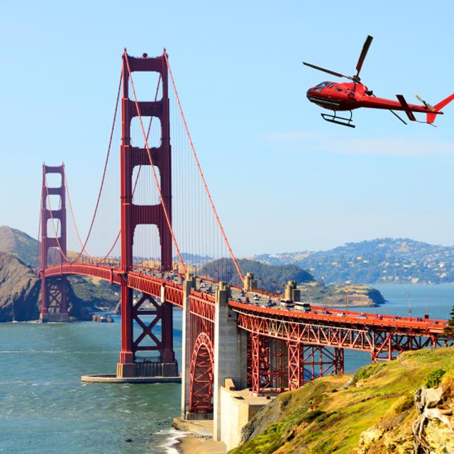 旧金山出发空中观光1日游:SF-T-2331
