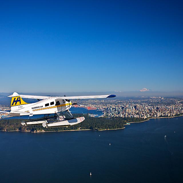 温哥华出发空中观光、游船观光1日游:VA-T-1452