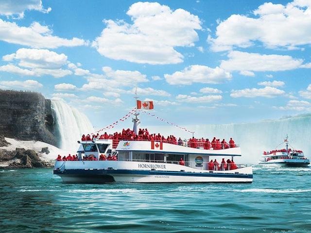 多伦多出发尼亚加拉大瀑布、游船观光1日游:TO-T-10179