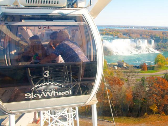 多伦多出发尼亚加拉大瀑布、景点门票、空中观光1日游:TO-T-10182
