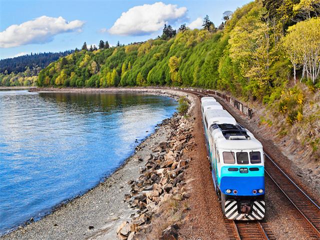 西雅图出发西海岸观景火车7日游:SE7-10040