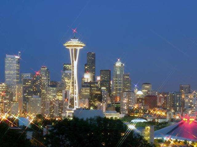 西雅图出发空中观光、游船观光7日游:SE7-10208