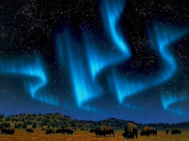 费尔班克斯出发极光5日游:FA5-10383