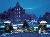 卡尔加里出发班夫公园、费尔蒙酒店、缤纷赏雪4日游:CA4-4006